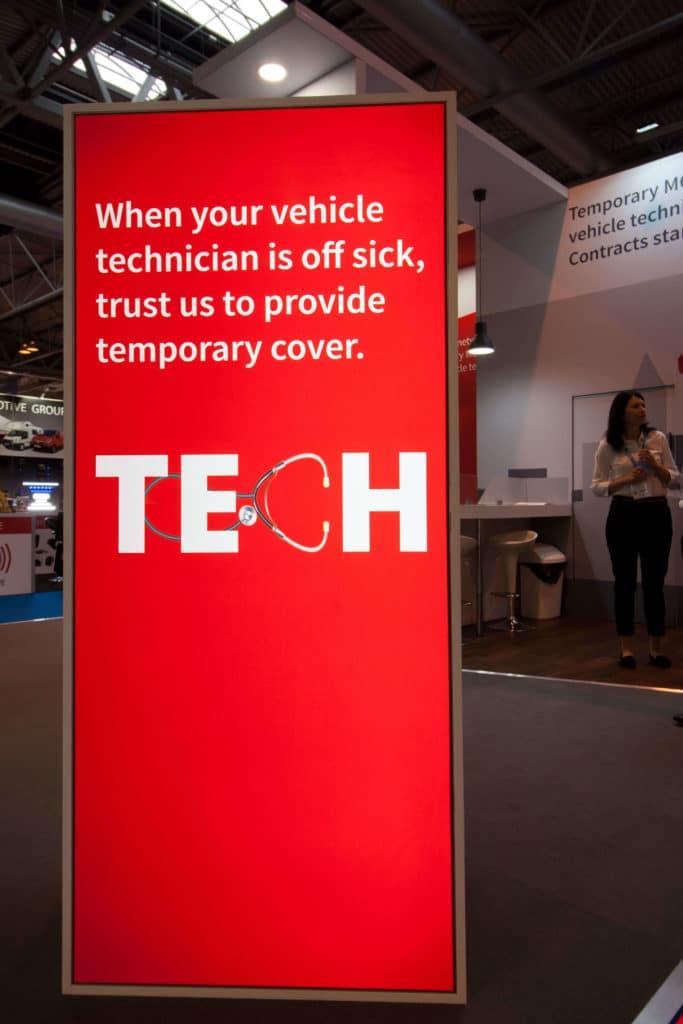 Exhibition Stand Method Statement : Autotech recruit at automechanika fnscreative